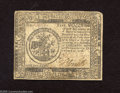 Continental Currency February 17, 1776 $5 Very Fine-Extremely Fine.This note which is well inked exhibits one very hard...