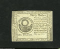 Colonial Notes:Continental Congress Issues, Continental Currency May 20, 1777 $30 Blue Counterfeit DetectorSuperb Gem New. The final denomination from this gorgeous ru...