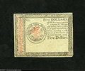 Colonial Notes:Continental Congress Issues, Continental Currency January 14, 1779 $5 Counterfeit Detector AboutNew....
