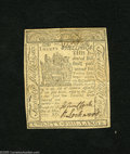 Colonial Notes:Delaware, Delaware May 1, 1777 20s Choice Extremely Fine....