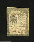 Colonial Notes:Pennsylvania, Pennsylvania December 8, 1775 20s Extremely Fine-AboutUncirculated. A lightly circulated example of this issue that hasbol...