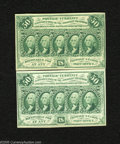 Fractional Currency:First Issue, Fr. 1312 50c First Issue Two Examples About New. Both notes of this delightful pair have a single fold. ... (2 notes)