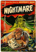 Golden Age (1938-1955):Horror, Nightmare #10 (St. John, 1953) Condition: Apparent GD/VG....