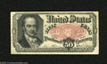 Fractional Currency:Fifth Issue, Fr. 1381 50c Fifth Issue Choice About Uncirculated. But for acouple of broad corner folds this Crawford note would easily r...