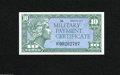 Military Payment Certificates:Series 611, Series 611 10¢ Replacement Gem New.This beautiful Replacement is from a pack of Replacements that was mustered out to collec...