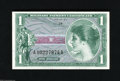 Military Payment Certificates:Series 651, Series 651 $1 Choice Crisp Uncirculated. This is a well preservedMPC from a series that was used only in Japan, South Korea...
