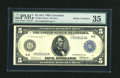 Fr. 856 $5 1914 Federal Reserve Note PMG Choice Very Fine 35