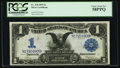 Large Size:Silver Certificates, Fr. 228 $1 1899 Silver Certificate PCGS Choice About New 58PPQ.....
