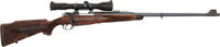 Engraved Holland & Holland Bolt Action Sporting Rifle with Telescopic Sight