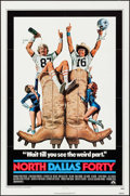"""Movie Posters:Sports, North Dallas Forty & Others Lot (Paramount, 1979). One Sheets (3) (27"""" X 41"""") Morgan Kane Artwork. Sports.. ... (Total: 3 Items)"""