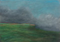 Works on Paper, Dennis Leon (British/American, 1933-1998). Clouds and Shadows II, 1979. Pastel on paper. 30 x 42 inches (76.2 x 106.7 cm...