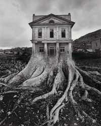 Jerry Uelsmann (American, b. 1934) Untitled (House and roots), 1982 Gelatin silver 18-3/4 x 15-1/