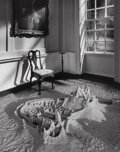 Photographs, Jerry Uelsmann (American, b. 1934). Untitled (Sand castle), 1990. Gelatin silver. 19-1/4 x 15-1/4 inches (48.9 x 38.7 cm...