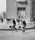 Photographs, Robert Doisneau (French, 1912-1994). Les Frères, 1934. Gelatin silver, printed later. 10-7/8 x 9-3/8 inches (27.6 x 23.8...