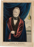 Political:Posters & Broadsides (pre-1896), James G. Birney: 1844 Liberty Party Candidate Currier Print....