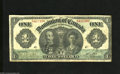 Canadian Currency: , DC-18a $1 1911 Portraits of Lord and Lady Grey are found on thisdesign with this example having healthy edges. Fine....