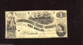 Confederate Notes:1862 Issues, T44 $1 1862. T44s are usually found in low grade, with this Finehaving crispness, nice edges, and even wear. Fine....