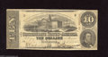 Confederate Notes:1863 Issues, T59 $10 1863. This $10 is crispy. Fine....