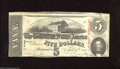 Confederate Notes:1863 Issues, T60 $5 1863. Even wear is found on this lightly handled 3rd Series$5. Very Fine....