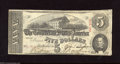 Confederate Notes:1863 Issues, T60 $5 1863. Some soiling is spotted on the back. Fine....
