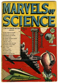 Golden Age (1938-1955):Non-Fiction, Marvels of Science #1 (Charlton, 1946) Condition: GD/VG....