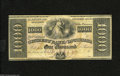 Obsoletes By State:Louisiana, New Orleans, LA- The Citizen's Bank of Louisiana $1000 18__ This colorful note is new and unissued with a small spot on the...