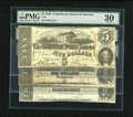 Confederate Notes:1863 Issues, A Trio of 1863 Confederates:. ... (Total: 3 notes)