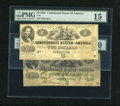 Confederate Notes:1862 Issues, A Pair of CSA Deuces:. ... (Total: 2 notes)