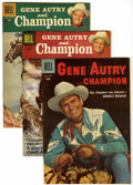 Silver Age (1956-1969):Western, Gene Autry Comics Group (Dell, 1955-58).... (Total: 11 Comic Books)