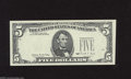 Error Notes:Third Printing on Reverse, Fr. 1979-E $5 1988 Federal Reserve Note. Gem Crisp Uncirculated. This note features the third printing on the reverse and m...