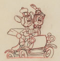 Animation Art:Production Drawing, The Nifty Nineties Mickey Mouse and Minnie Mouse AnimationDrawing Group of 2 (Walt Disney, 1941). ... (Total: 2 Items)