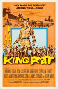 "Movie Posters:War, King Rat (Columbia, 1965). One Sheet (27"" X 41"") & Lobby CardSet of 8 (11"" X 14""). War.. ... (Total: 9 Items)"