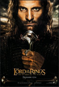"Movie Posters:Fantasy, The Lord of the Rings: The Return of the King (New Line, 2003). OneSheet (27"" X 40"") DS Advance Aragorn Style. Fantasy.. ..."