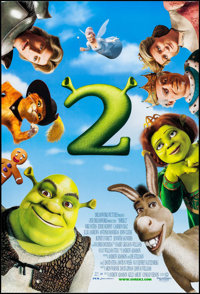 """Shrek 2 & Other Lot (DreamWorks, 2004). One Sheets (5) (27"""" X 40""""). Animation. ... (Total: 5 Items)"""