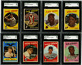 Baseball Cards:Sets, 1959 Topps Baseball Complete Set (572). Offered is a mid grade 1959 Topps Baseball complete set. This set contains the flame...