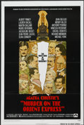 "Movie Posters:Mystery, Murder on the Orient Express (Paramount, 1974). One Sheet (27"" X41""). Mystery...."