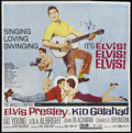 "Movie Posters:Elvis Presley, Kid Galahad (United Artists, 1962). Six Sheet (81"" X 81""). ElvisPresley...."