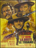"""Movie Posters:Western, The Good, The Bad and the Ugly (United Artists, R-1970s). French Grande (47"""" X 63""""). Western...."""