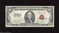 Small Size:Legal Tender Notes, Fr. 1550* $100 1966 Legal Tender Star Note. Fine, ink. Stars from this series are elusive, while no Stars were printed for ...