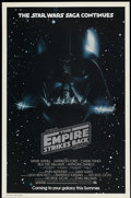"""Movie Posters:Science Fiction, The Empire Strikes Back (20th Century Fox, 1980). One Sheet (27"""" X41"""") Advance. Science Fiction...."""