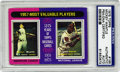 Autographs:Sports Cards, Mickey Mantle Signed 1975 Topps Card, PSA Authentic. The 1975 Toppscard has been honored with the signature of one of the ...