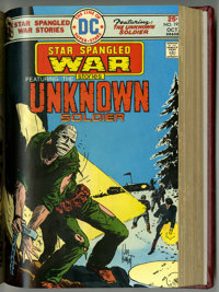 Star Spangled War Stories #177-204 Partial Issues Bound Volume (DC, 1974-77)