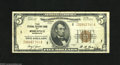 Fr. 1850-I $5 1929 Federal Reserve Bank Note. Fine-Very Fine. This snappy note is currently the highest known serial num...