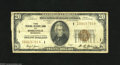 Fr. 1870-I $20 1929 Federal Reserve Bank Notes. Two Examples. Fine. Here are two Brown Seal Twenties that are complete w...
