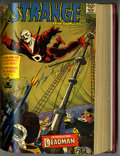 Silver Age (1956-1969):Science Fiction, Strange Adventures #184-222 Partial Issues Bound Volume (DC, 1966-70)....