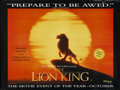 "Movie Posters:Animated, The Lion King (Buena Vista, 1994). British Quad (30"" X 40"").Animated...."