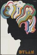 "Movie Posters:Rock and Roll, Bob Dylan by Glaser (1966). Poster (22"" X 33""). Rock and Roll...."