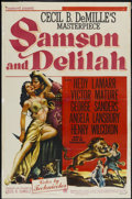"Movie Posters:Adventure, Samson and Delilah (Paramount, 1949). One Sheet (27"" X 41"").Adventure...."