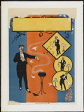 "Movie Posters:Miscellaneous, Magic Stock Poster (National Printing & Engraving, 1920s). Poster (21"" X 29""). Miscellaneous...."