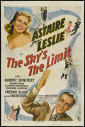 "The Sky's the Limit (RKO, 1943). One Sheet (27"" X 41"") Style A. Musical"